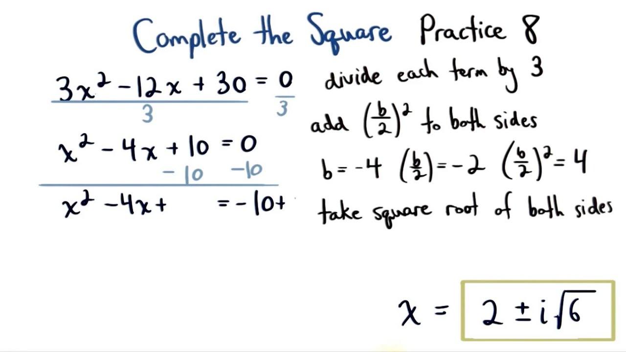 Complete The Square Practice 8 Visualizing Algebra Body_harvardapp_essay1g