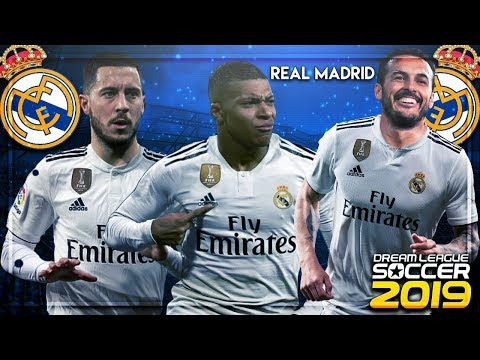Plantilla del Real Madrid Fantasy para Dream League Soccer 2019.