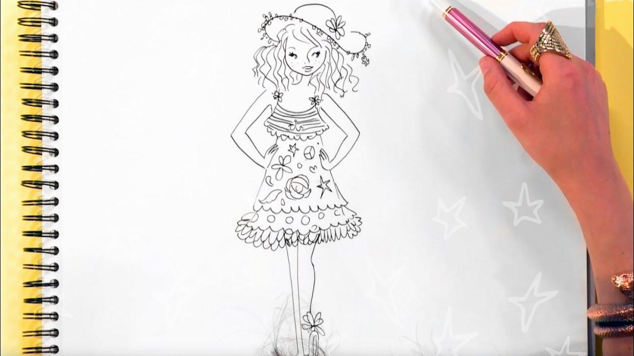 Jills Summer Sweets 9 Teken Een Strandoutfit Youtube