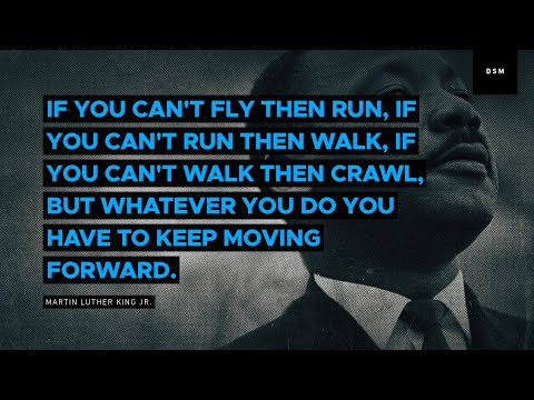Sales Motivation Quote If You Cant Fly Then Run If You Cant Run