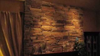 Stone Fireplace Installation Natural Stone