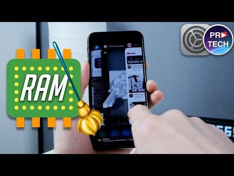 Как почистить оперативную память на айфоне