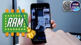 Как очистить оперативную память на iPhone X и других iPhone и iPad | ProTech