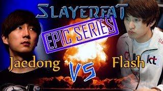 starcraft Broodwar en español ZvT Jaedong vs Flash