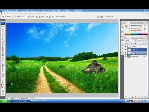 Урок по Adobe Photoshop CS3 на тему танки онлайн
