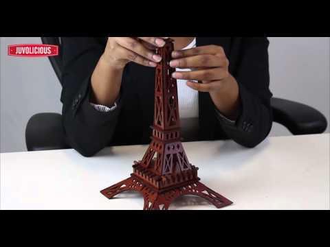 3D La Tour Eiffel Tower Paris DIY Brain Teaser Puzzle