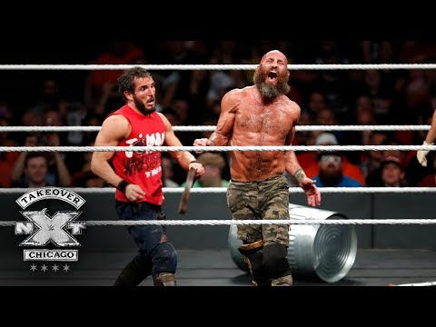Johnny Gargano mercilessly whips Tommaso Ciampa with his belt: NXT TakeOver: Chicago II
