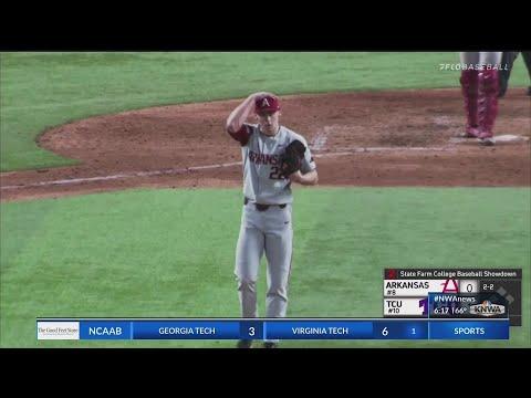 Looking at Arkansas' pitching performance in Arlington
