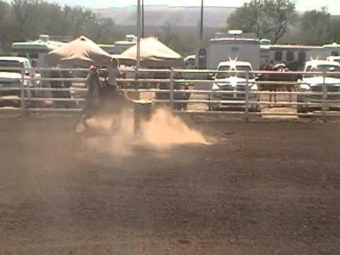 SABRA Barrel Race Stephanie Hendrickson