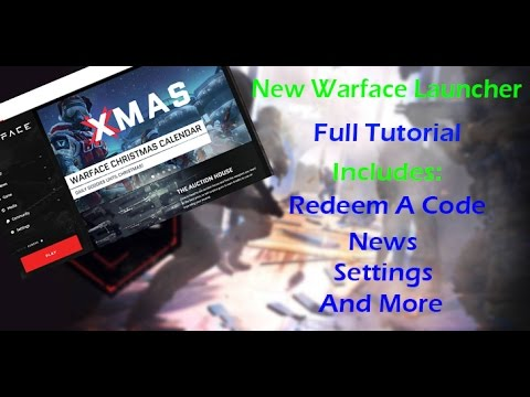 Warface New Steam Launcher - Tutorial - Redeem Codes , Settings , 2 Problem Fixes And More thumbnail