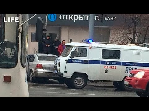 Ограбление банка со стрельбой в Екатеринбурге