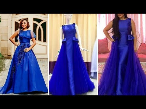 2018#Beautiful Long floor Touch Dresses Collection/ Gown Design Ideas   #✈Online dress collection