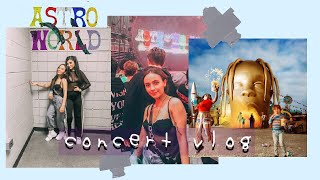 I WENT TO ASTROWORLD | grwm + travis scott concert vlog