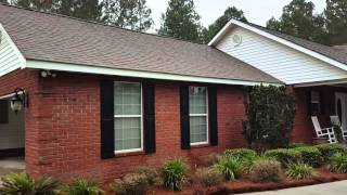 Roof washing Before and After in Jesup Georgia