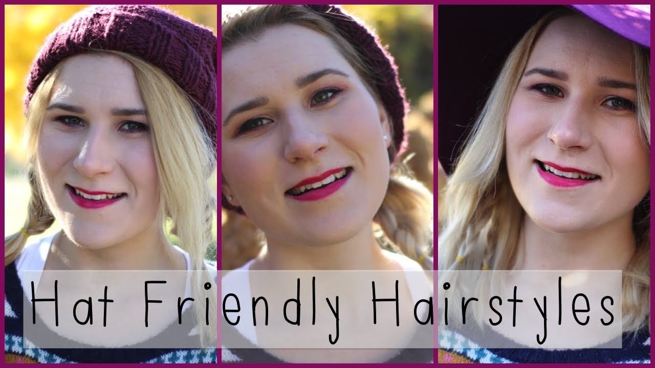 011b52a6a32e8 Quick   Easy Hat Friendly Hairstyles for Short Hair - YouTube