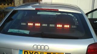 48 Led Shelf / Dash Mount Lightbar With Patterns. View 5