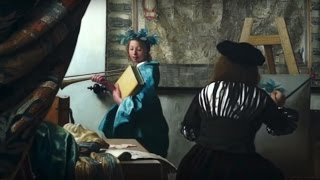 New/フェルメール「絵画芸術」 生島浩 ウィーン美術史美術館にて模写 Copy of Vermeer-The Art of Painting : Hiroshi Ikushima