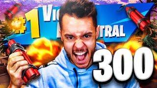 ¡MI VICTORIA 300 EN FORTNITE! - TheGrefg