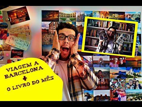 Viagem a Barcelona  O Livro do Mês