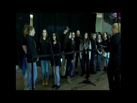 Consentino Middle School - Canadian Anthem - April 2, 2017