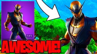 THE COPPER WASP SKIN in FORTNITE IS AWESOME... (Fortnite Item Shop July 21st)