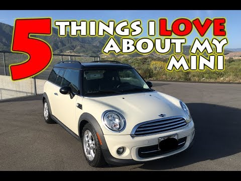 5 THINGS I LOVE ABOUT MY MINI COOPER