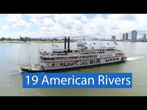 Aerial American Rivers - (part 1)