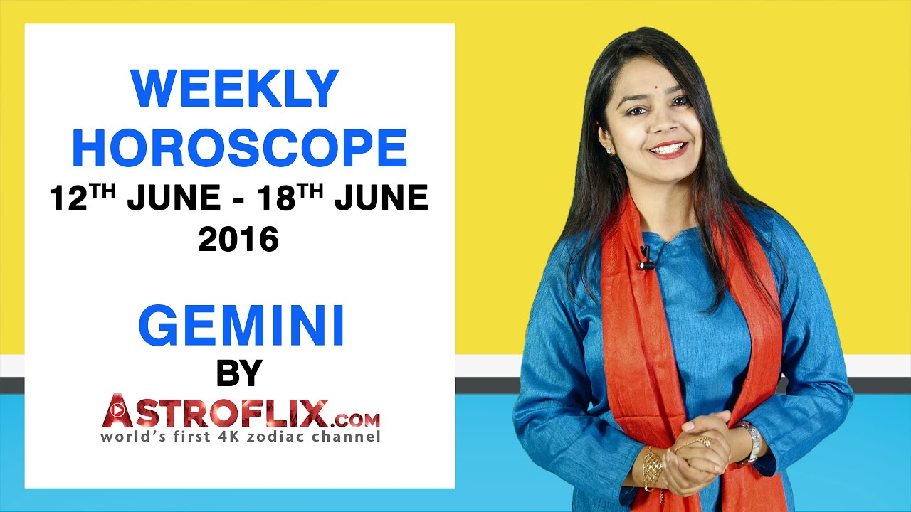 Gemini | Weekly Horoscope | 12th June - 18th June 2016 by GaneshaSpeaks com