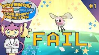 biggest shiny fail ever pokemon sun and moon live shiny cutiefly shiny 1