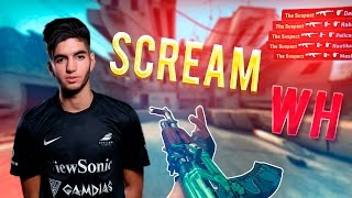 scream играет с wh cs go