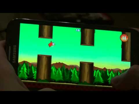 Clumsy bird gameplay android FREE score 45 now