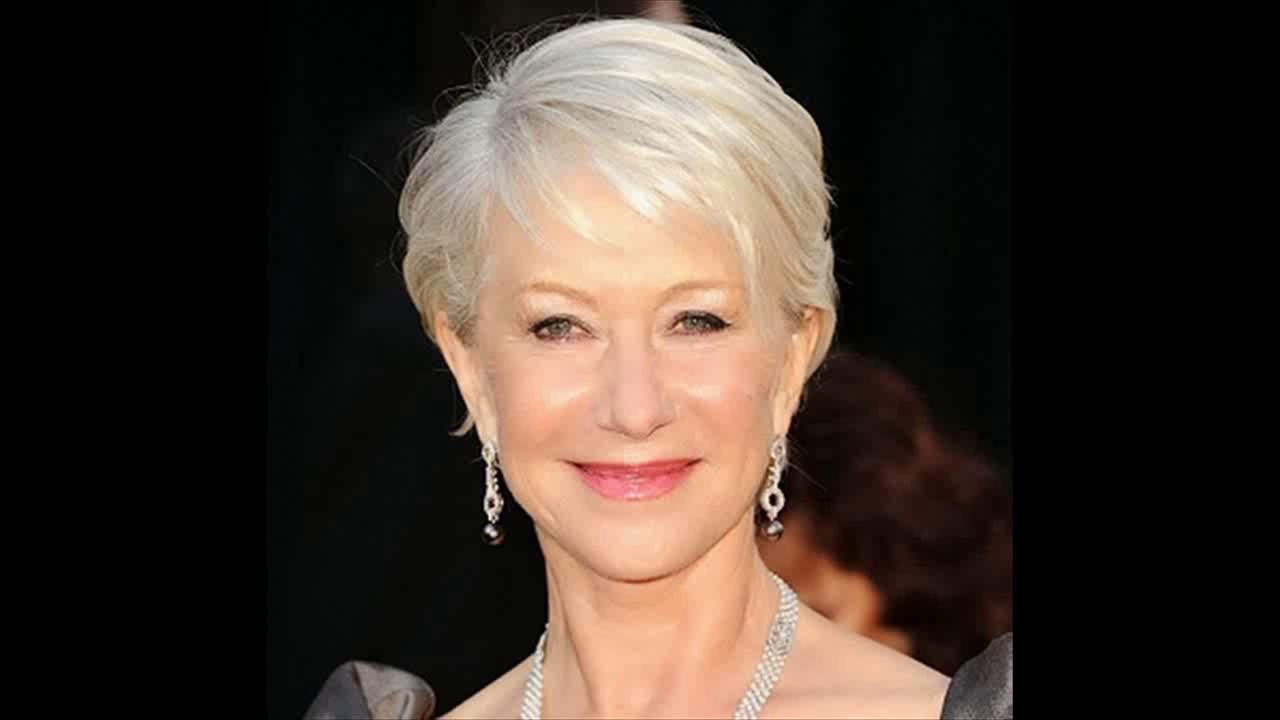Pixie Haircuts For Women Over 60 Youtube