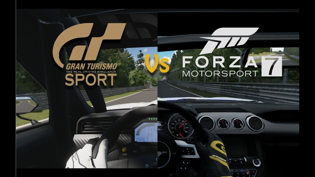 forza motorsport 7 vs gran turismo sport beta. Black Bedroom Furniture Sets. Home Design Ideas