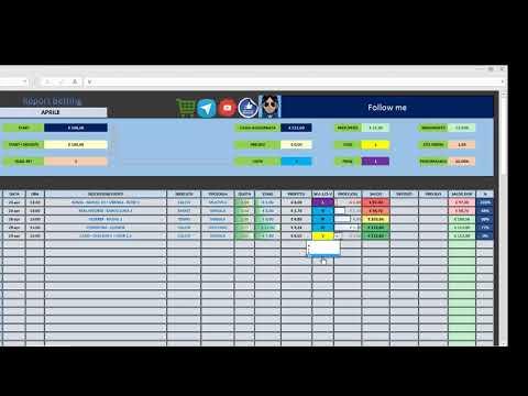 La video guida del Report Betting