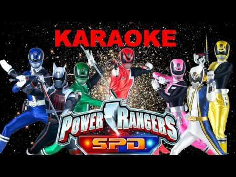 Power Rangers SPD Karaoke