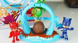 La Fabbrica delle Uova con i Pj Masks Super Pigiamini: crea il tuo ovetto sopresa! [Unboxing]