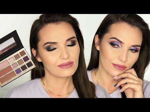 DWA MAKIJAŻE - JEDNA PALETA | MAXINECZKA #BeautyLegacy