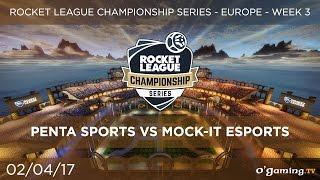 Penta Sports vs Mock-It Esports - RLCS EU Season 3 - Week 3 - Rocket League