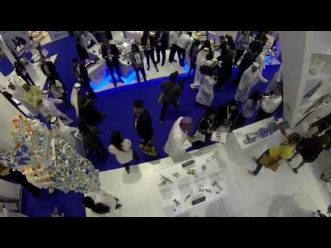 GESS 2017 Dubai - LEGO Education Booth - GoPro Cable Robot