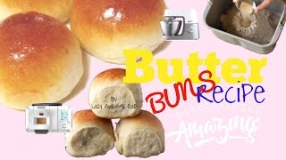 How to FLUFFY Soft Asian milk Butter Bread Buns Recipe - Breville Custom Loaf Pro BBM800 bread maker