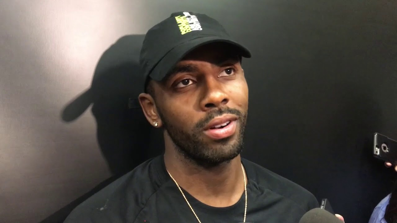 Kyrie Irving reacts to first Celtics' preseason game in TD Garden | ESPN