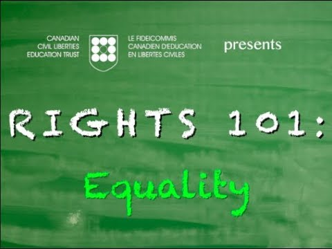 Rights 101: Equality
