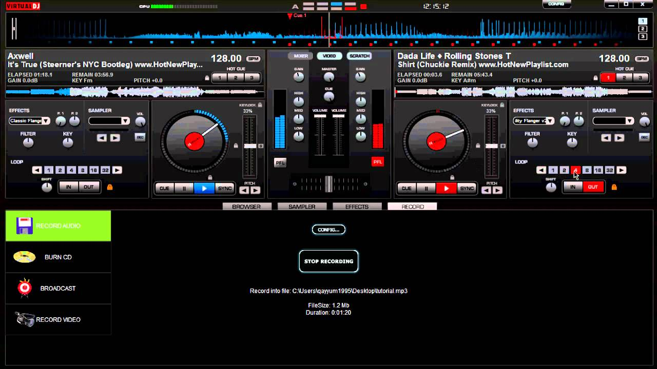 Virtual dj software hardware manuals denon dj mcx-8000 setup.