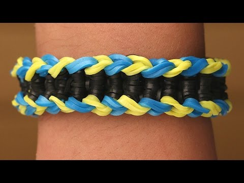 Rainbow Loom Nederlands - Loch Ness Monster || Loom bands, rainbow loom, tutorial, how to