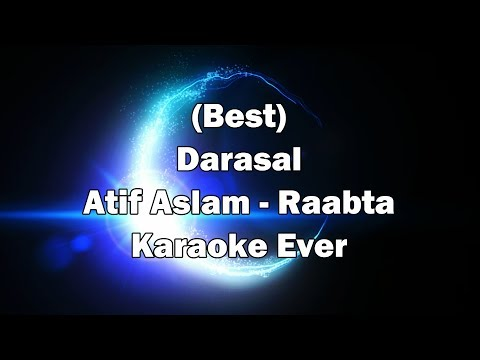Darasal Karaoke with Lyrics | Atif Aslam | Raabta Karaoke Songs | Sushant Singh Rajput & Kriti Sanon