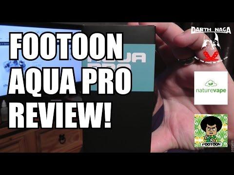 Footoon Aqua Pro RTA review!!