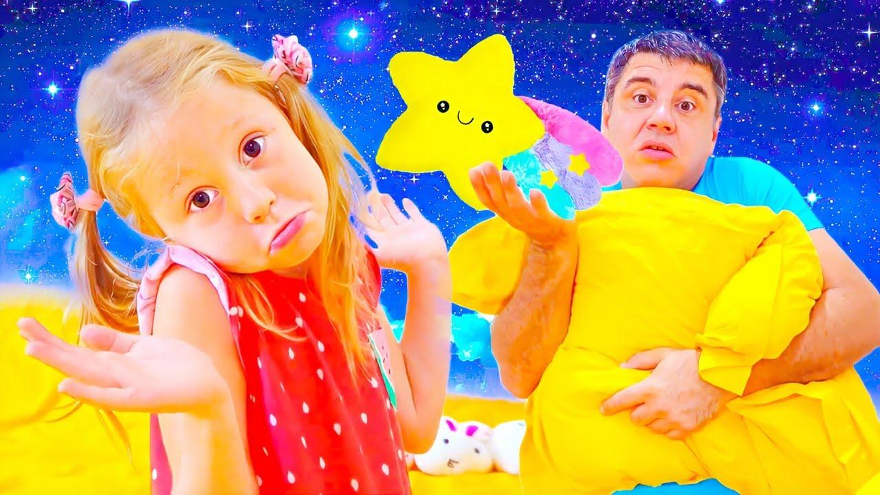 Download Nastya et histoire d'oreillers inconfortables, histoire drôle pour les enfants