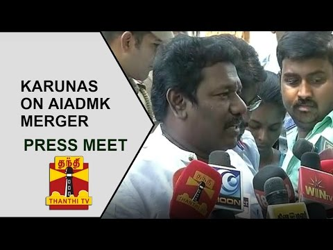 Thiruvadanai MLA Karunas's Press Meet after meeting TN CM Edappadi Palanisamy | Thanthi TV