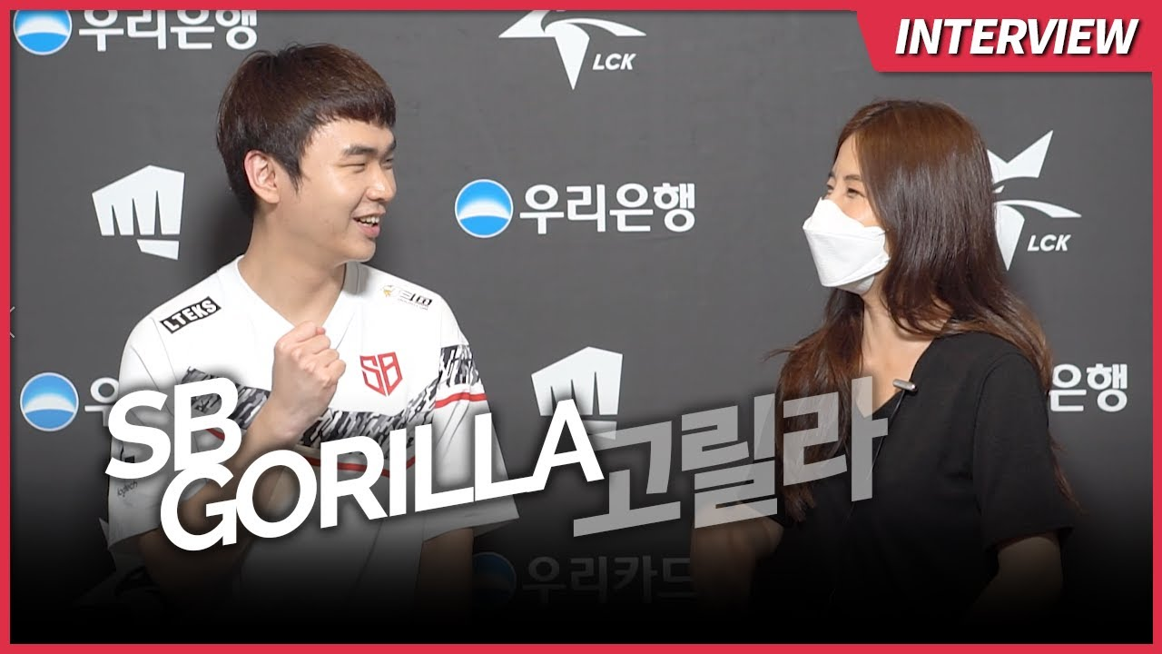 SB GorillA is ready to face KT Smeb support at the bot lane | Ashley Kang LCK