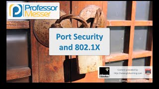 port security and 802 1x comptia security sy0 401 1 2